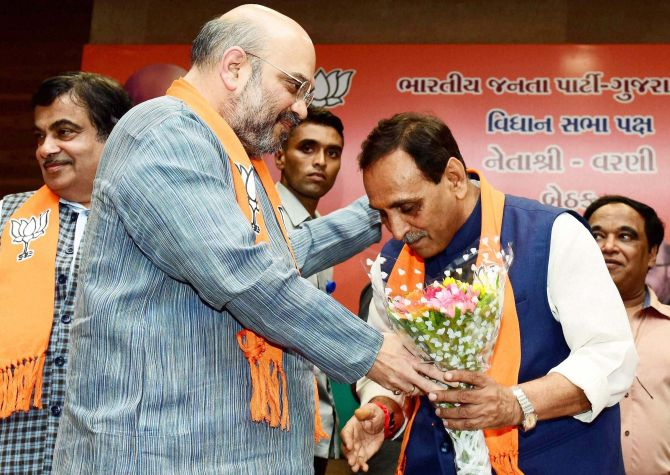 Congress has outsourced its campaign to caste leaders: Rupani