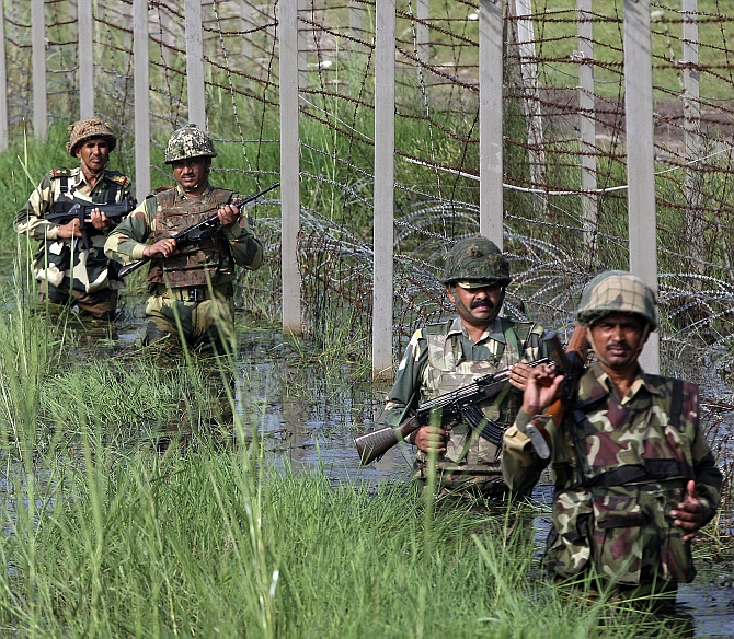 BSF jawan killed in firing by Bangladeshi troops