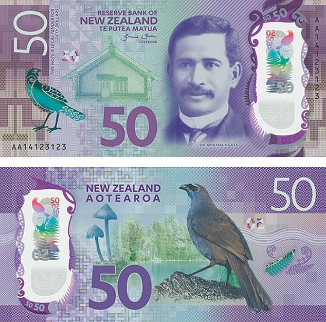 New Zealand S 50 Dollar Note