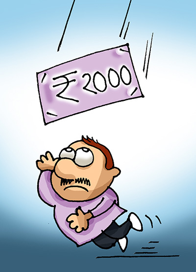 Rupee rebounds from 1-mth low, soars 28 paise