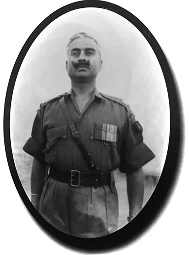 Major General Shamsher Singh, Mahavir Chakra