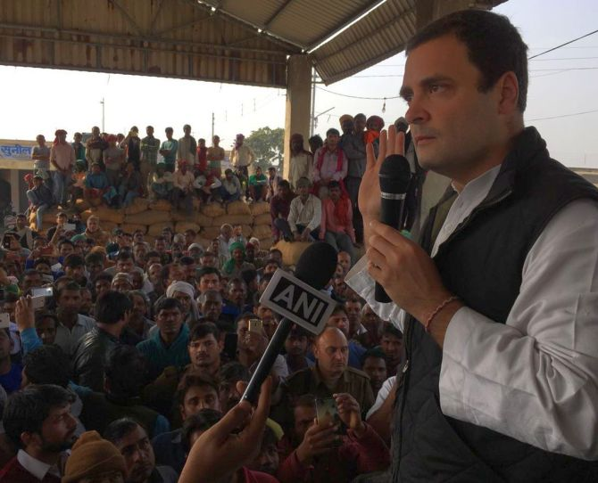 No black money in Swiss banks: Rahul's jibe at PM