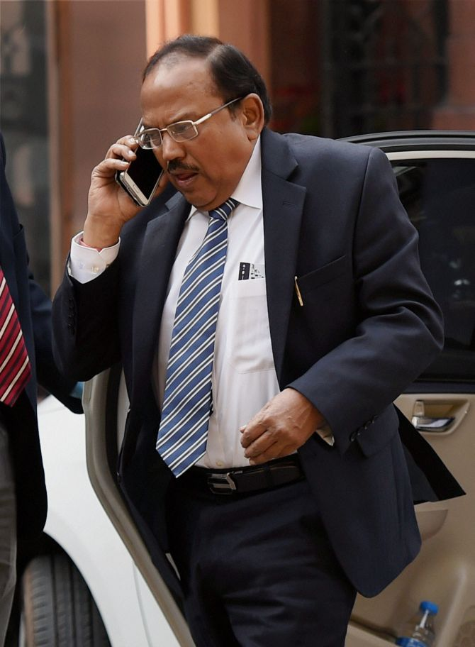 NSA Doval tasked to bring Delhi under control