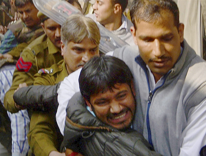 Kanhaiya Kumar in Patiala House court