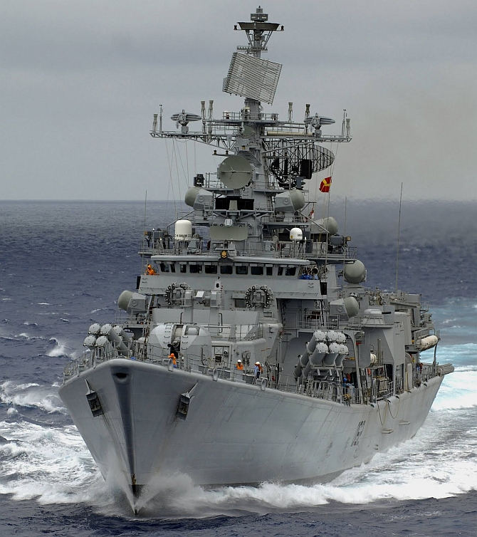 India Navy to begin trilateral exercise 'IBSAMAR' with SA, Brazil today