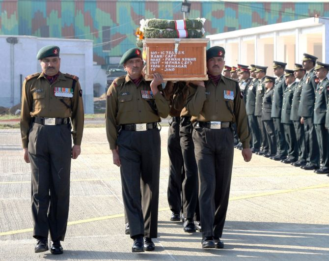 'Capt Pawan refused injury leave to lead his men in Pampore'
