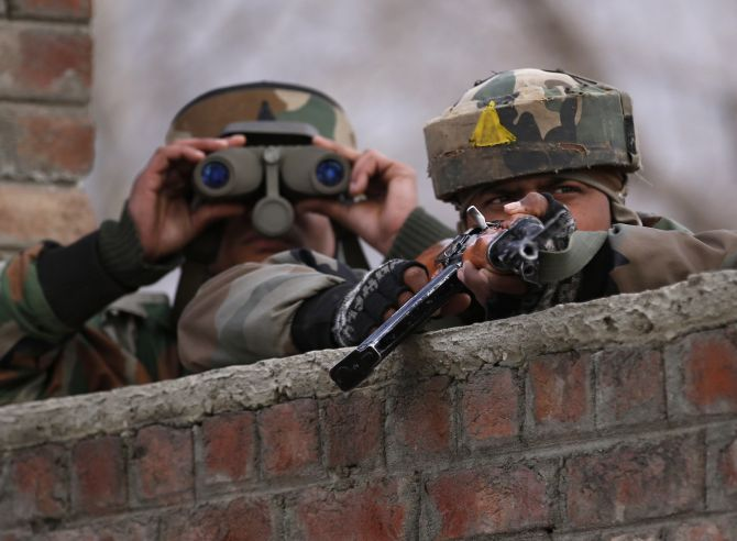 JCO killed, civilian injured as Pak targets villages along LoC