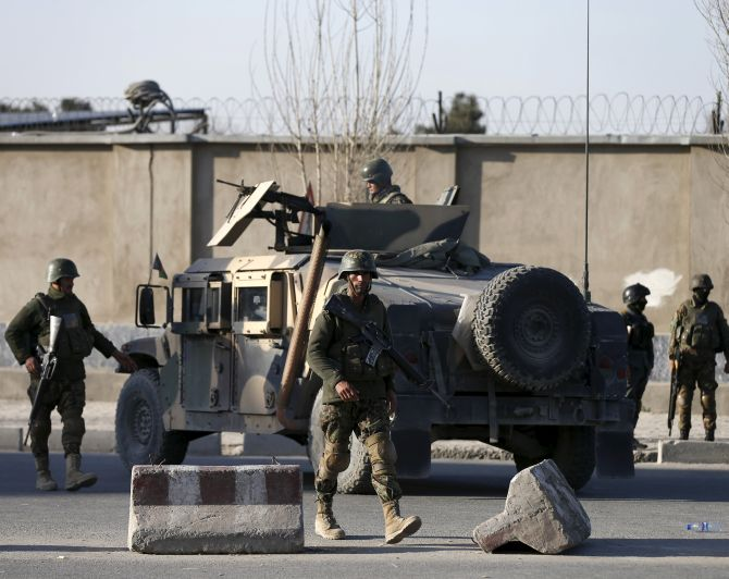 9 dead, 13 injured in attack near Afghan defence ministry