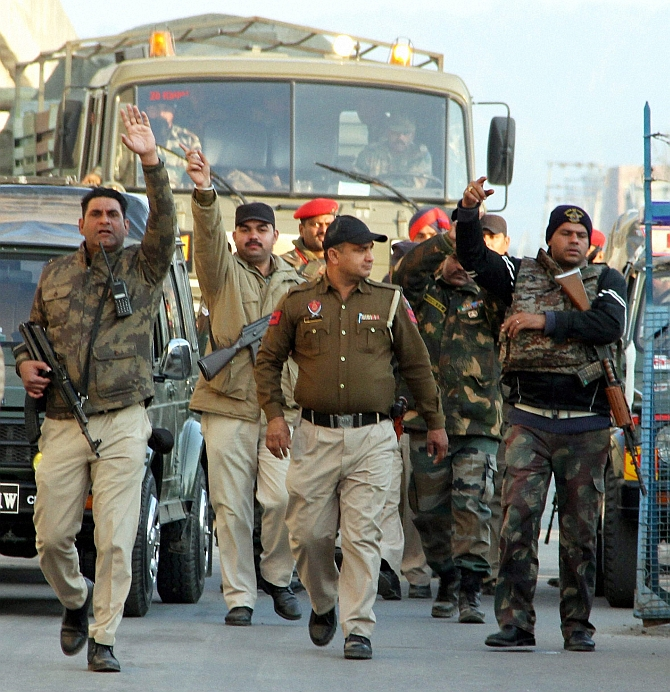 Blow by blow: How swift action saved the day in Pathankot