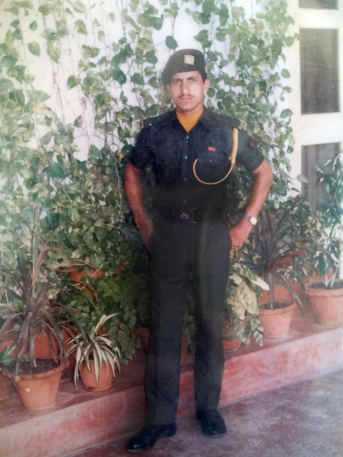 Martyred soldier Sepoy Jagdish Chand