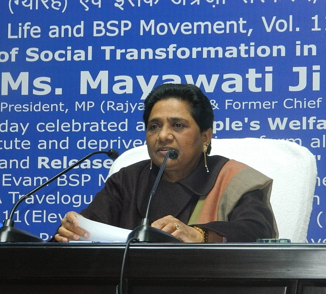 BSP releases list of candidates for 100 UP seats
