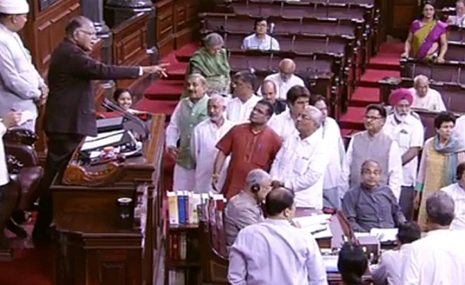 'Unhappy' Amit Shah seeks explanation from MPs bunking Parliament