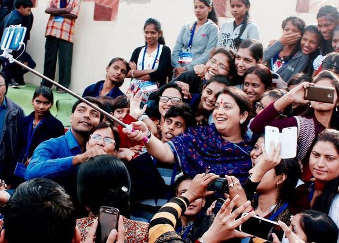 Inspiring lessons from Smriti Irani's life and win