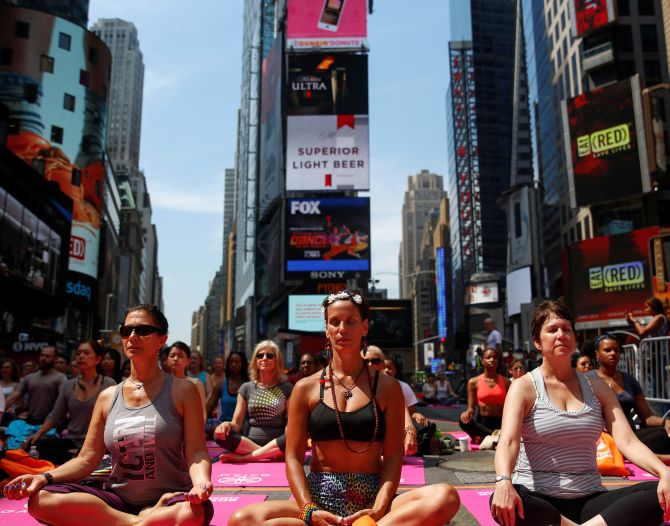 'Yoga from home' to mark this year's Yoga Day in US