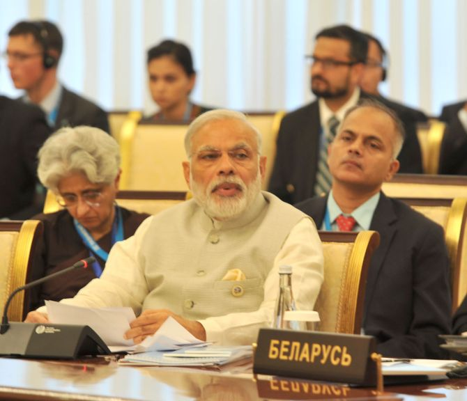 Modi in Qingdao tomorrow to attend SCO meet, India's focus on combating terror