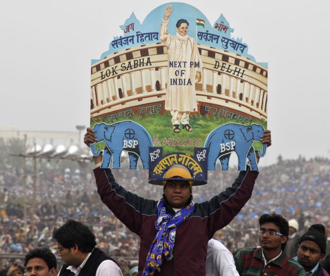 Issue of UP's division again takes centre stage due to polls