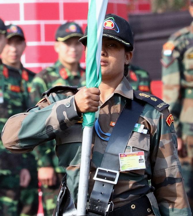 Take a bow, Lieutenant Colonel Sofiya Qureshi!