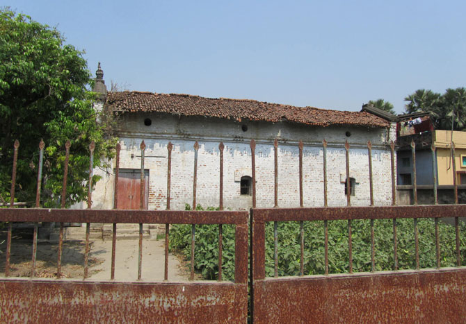 The house belonging to the man credited with bringing Communism to Bihat