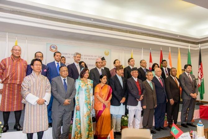 SAARC council of ministers meet