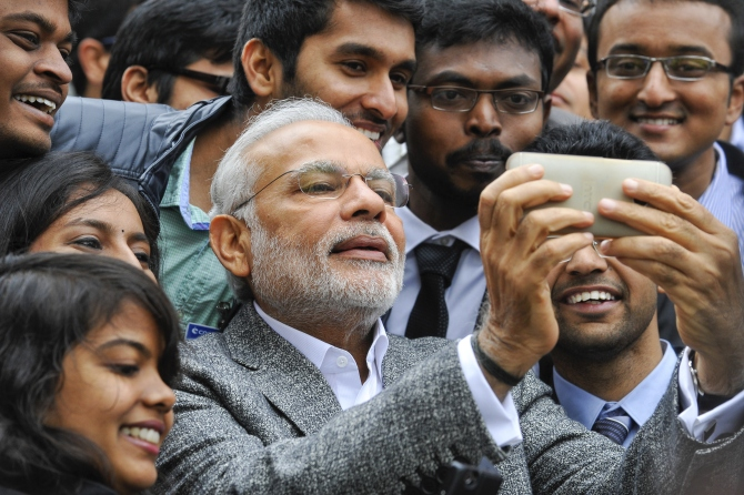 At end of first phase Modi wins hashtag war over Cong