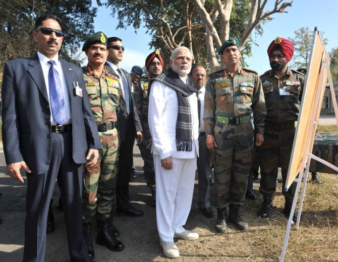 PM Modi at Pathankot