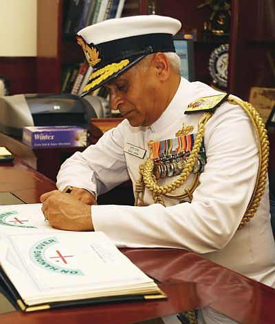 All you need to know about Vice Admiral Sunil Lanba, India's next naval chief