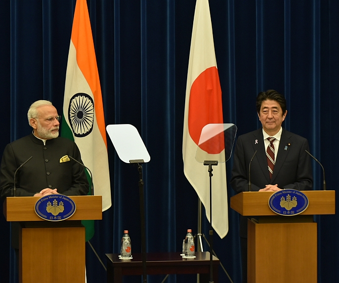 Japan was the only major country that conveyed its unequivocal support to India and Bhutan through diplomatic channels during the Doklam standoff.