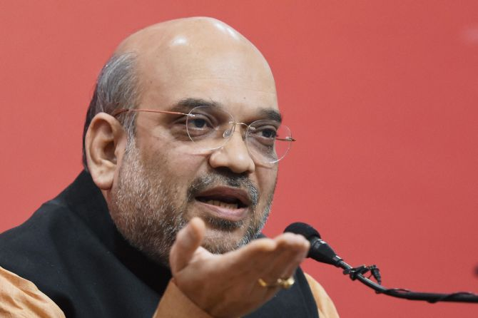 Why are Maya, Mulayam, Kejriwal troubled by black money curbs, asks Shah