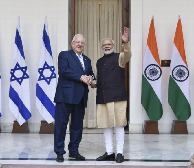India, Israel to intensify defence, anti-terror cooperation