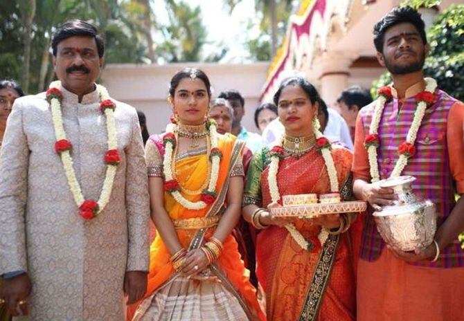 PHOTOS: The big fat Rs 500 crore Reddy wedding