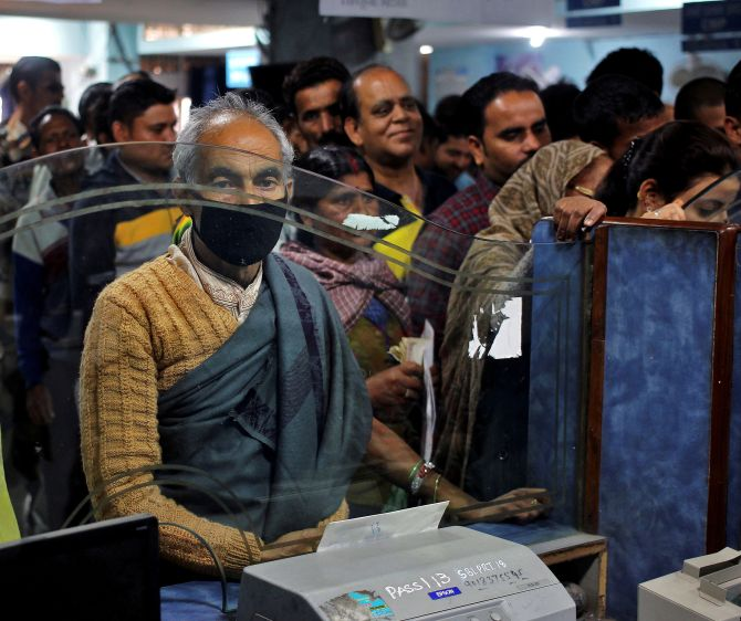 After cash crunch, banks grapple with space crunch