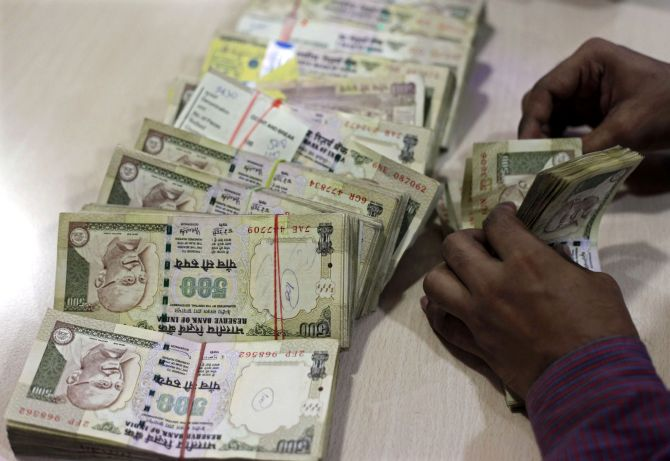 Undisclosed income of Rs 9,334 cr detected post note ban