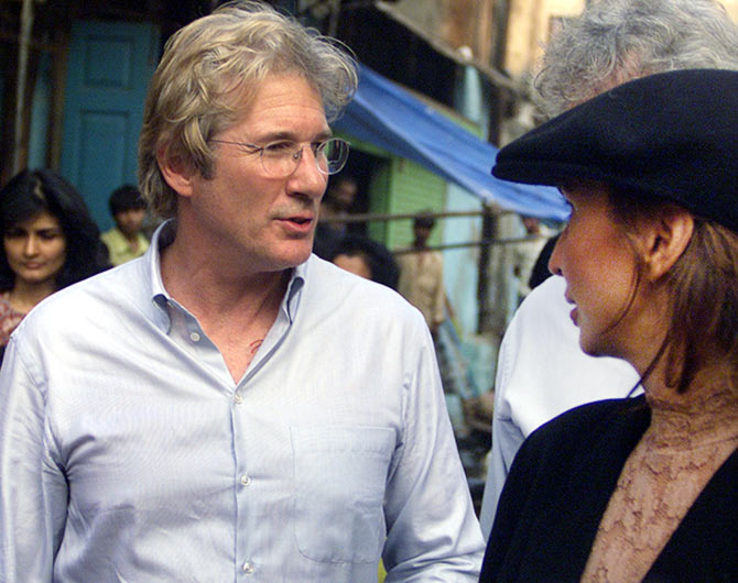 Richard Gere and Parmeshwar Godrej