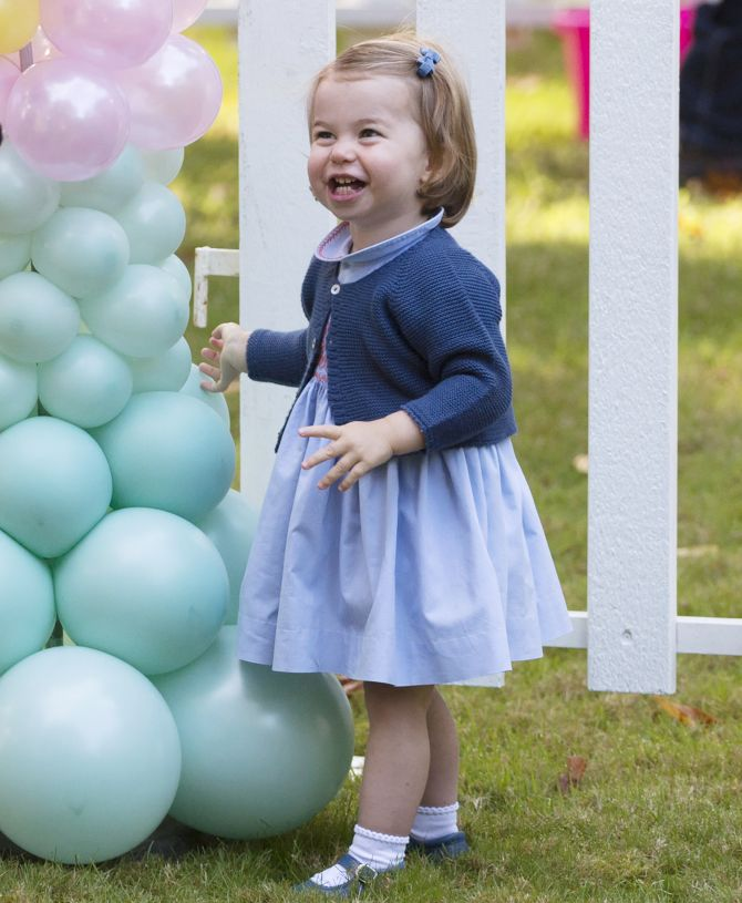 'Pop': Britain's Princess Charlotte Utters Her First Word