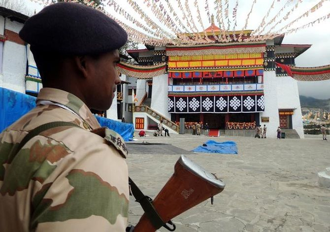 Security in Tawang