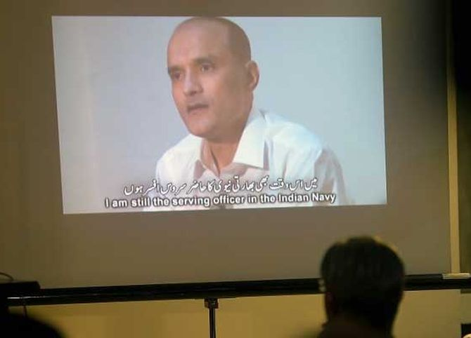 Pak considering legal options for Jadhav case review