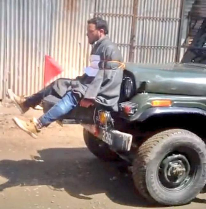 Is the Army functioning more as a police force in J & K?