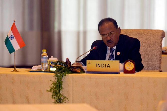 China says its NSA told Doval to 'pull back trespassing India troops'