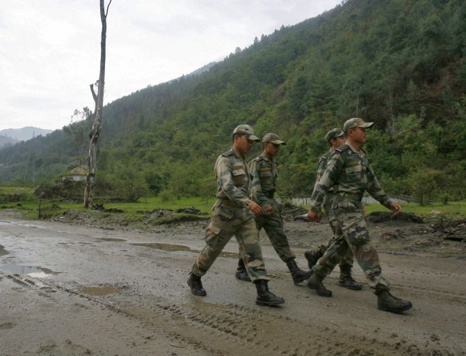 Amid Doklam standoff, India deploys more troops along China border