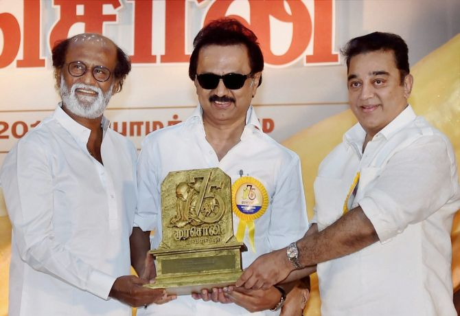 Stalin's advice to Rajini as he refuses to apologise