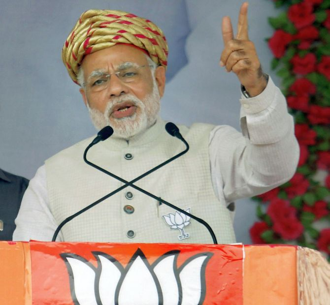 Acche Din? Not for BJP's Gujarat campaign