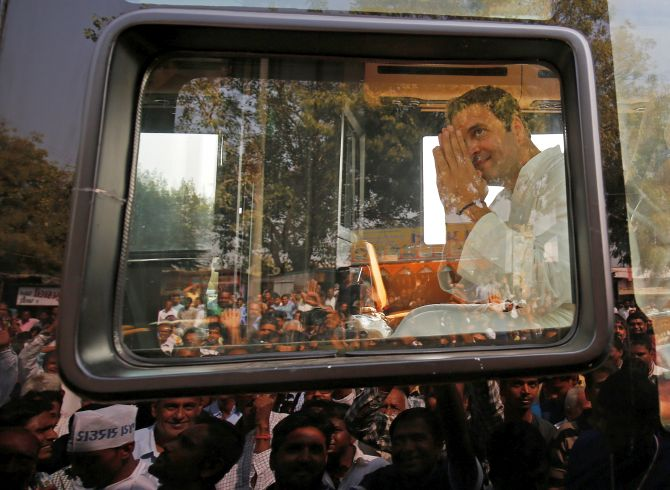 Ahmedabad cops deny permission to Rahul, BJP to carry out roadshows