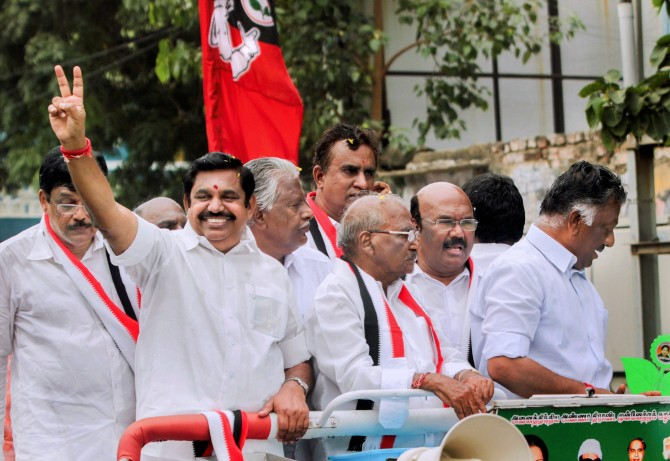 All the AIADMK candidates are crorepatis!
