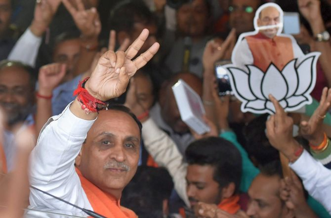 Gujarat's new BJP government to take oath on Tuesday