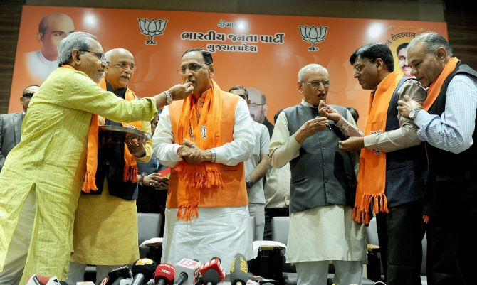 BJP manages to retain Gujarat, Congress' tally improves