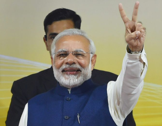 PM shares 'vikas yatra' of his 2nd term with people
