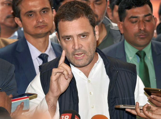 Rahul reacts to order on probing family-linked trusts