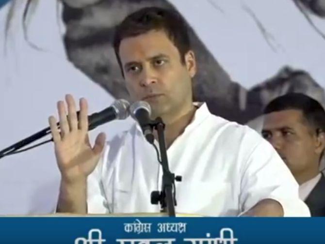 Modi's 'Gujarat model' debunked during polls: Rahul Gandhi