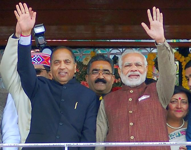 Why is BJP so divided in in Himachal?