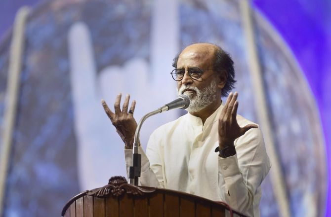 Rajini suffers injuries during 'Man vs Wild' shooting